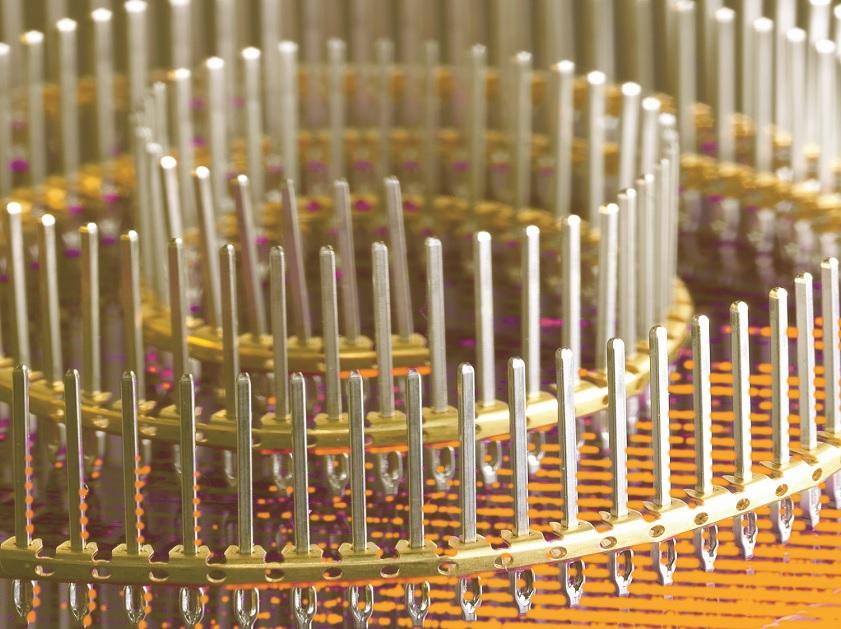 bandolier precision connector pins