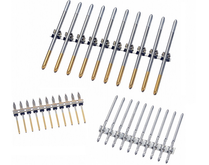bandolier pins selective plating