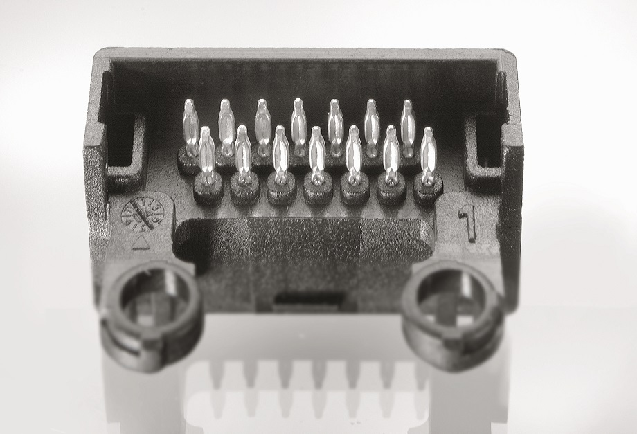 Terminals in connector