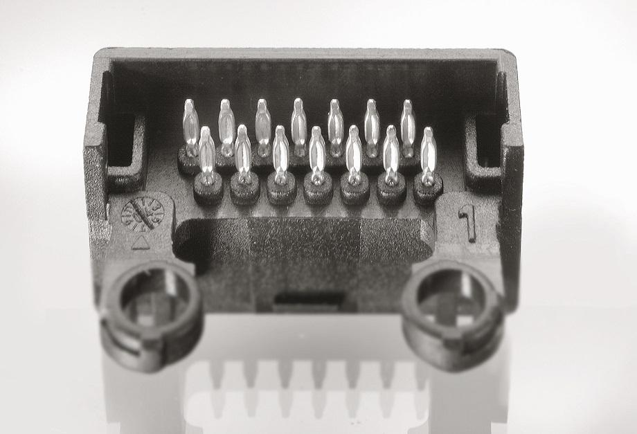 Terminals in connector